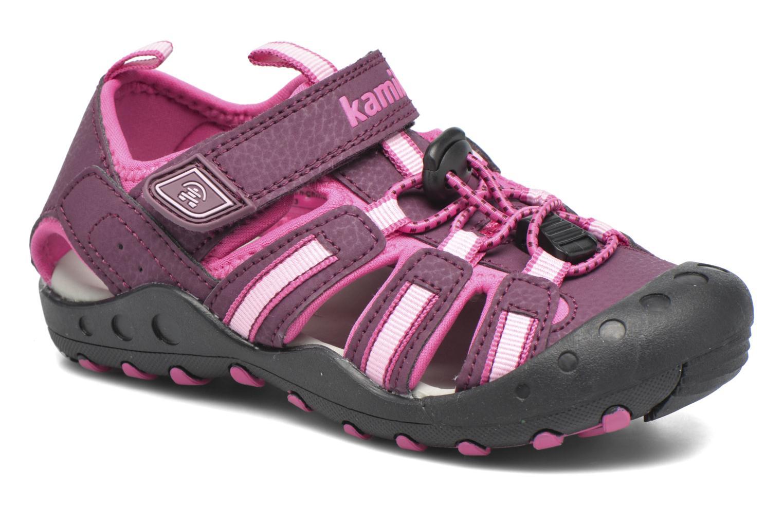Sandales et nu-pieds Kamik Crab Violet vue détail/paire