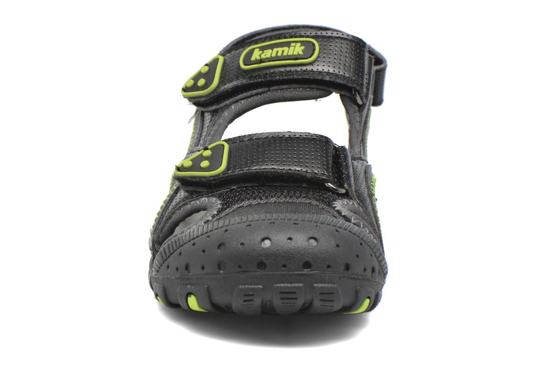 Sandales et nu-pieds Kamik Seaturtle Noir vue portées chaussures