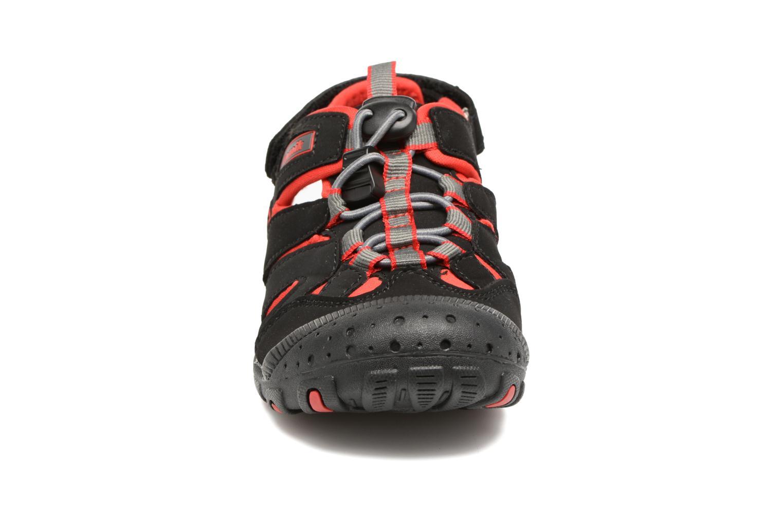 Sandales et nu-pieds Kamik Oyster Noir vue portées chaussures
