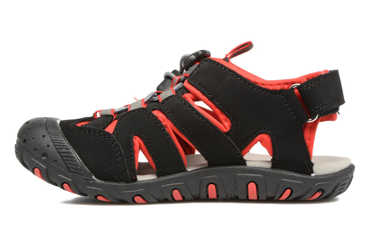 Oyster Black/red