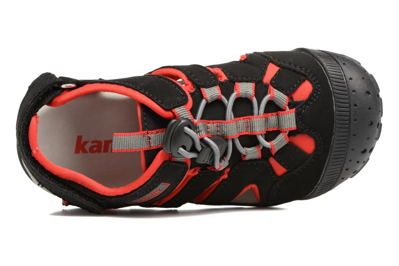 Sandales et nu-pieds Kamik Oyster Noir vue gauche