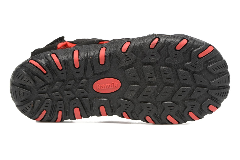 Sandales et nu-pieds Kamik Oyster Noir vue haut