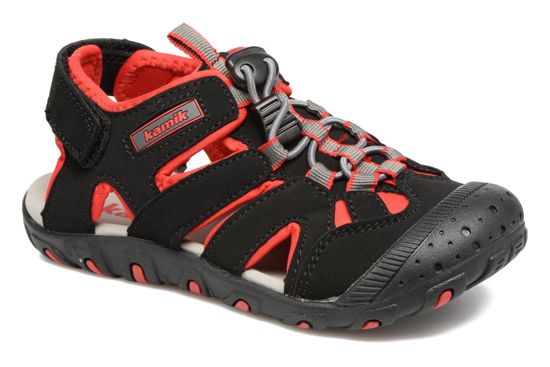 Sandales et nu-pieds Kamik Oyster Noir vue détail/paire