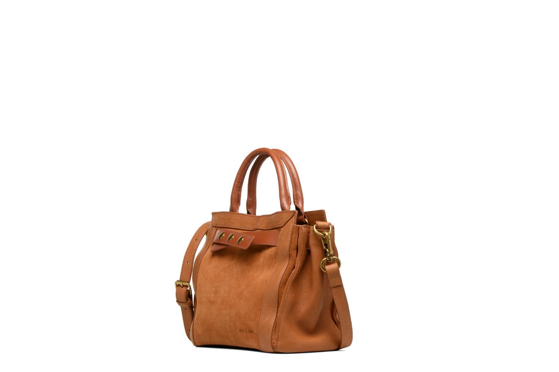Handtaschen Nat & Nin Solange braun schuhe getragen