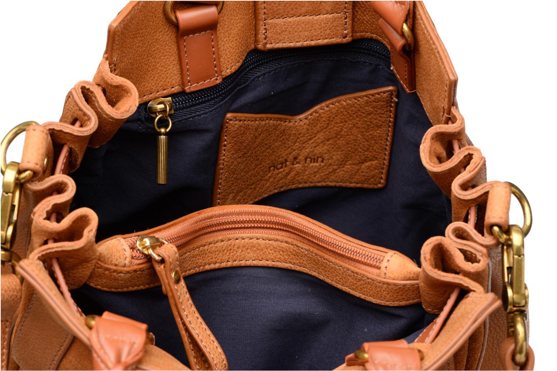 Handtaschen Nat & Nin Solange braun ansicht von hinten