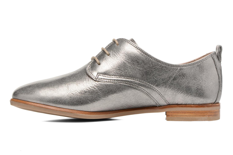 Chaussures à lacets Clarks Alania Posey Gris vue face