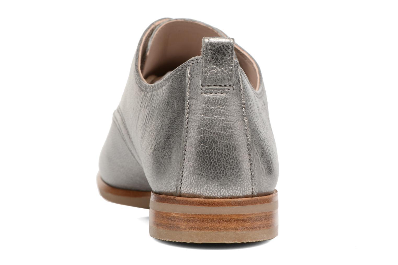 Chaussures à lacets Clarks Alania Posey Gris vue droite