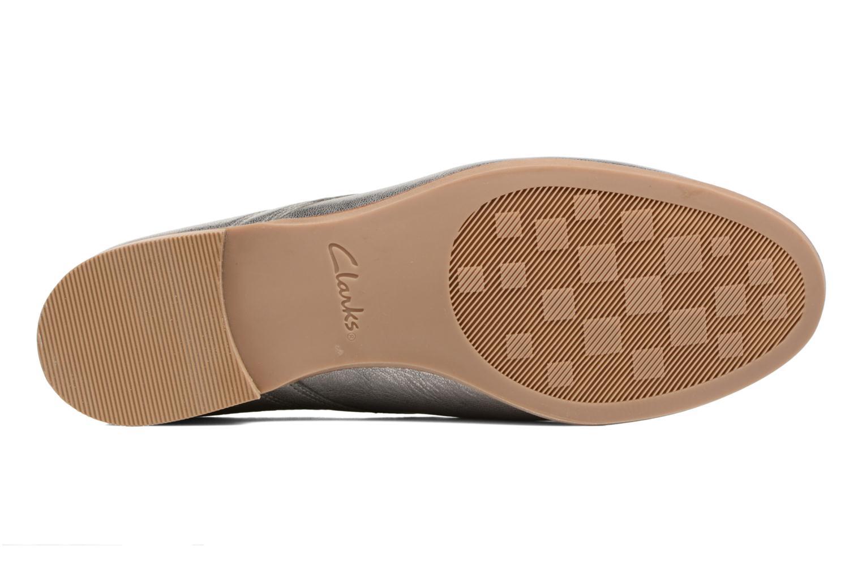 Chaussures à lacets Clarks Alania Posey Gris vue haut