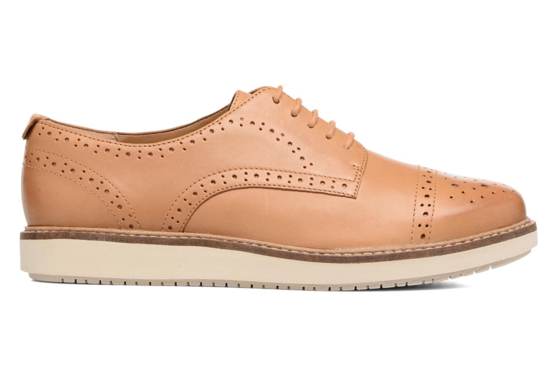 Chaussures à lacets Clarks Glick Shine Marron vue derrière