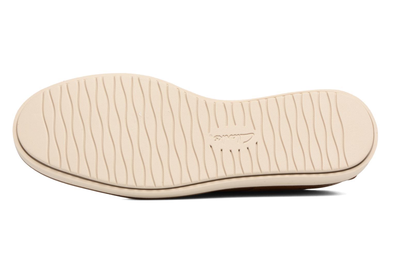 Chaussures à lacets Clarks Glick Shine Marron vue haut