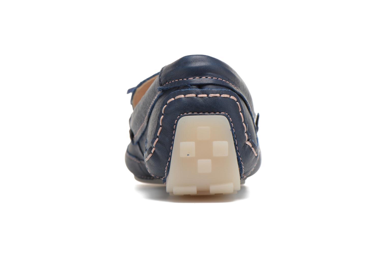 Loafers Clarks Natala Rio Blå Se fra højre
