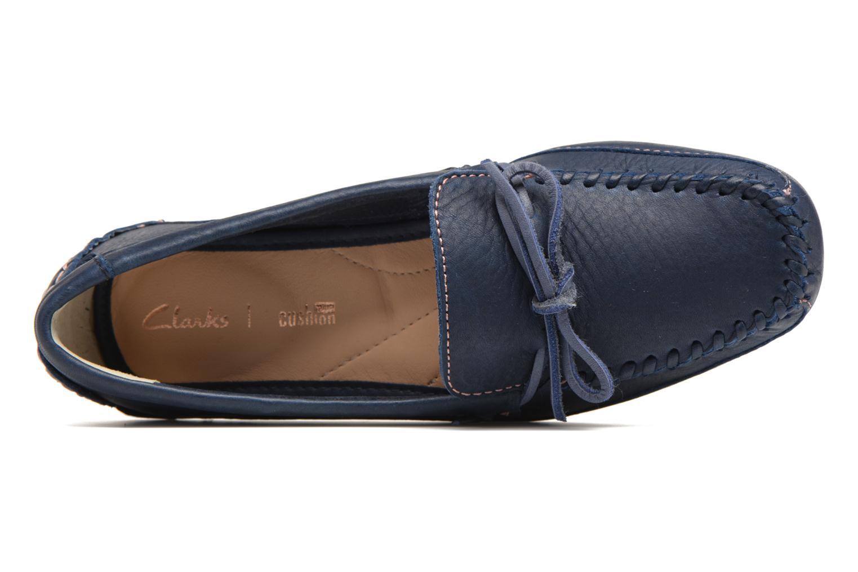 Loafers Clarks Natala Rio Blå se fra venstre