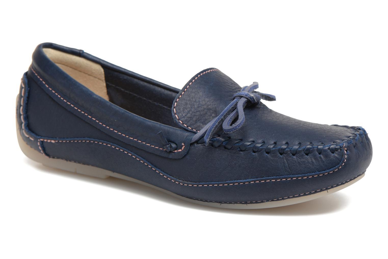 Loafers Clarks Natala Rio Blå detaljeret billede af skoene