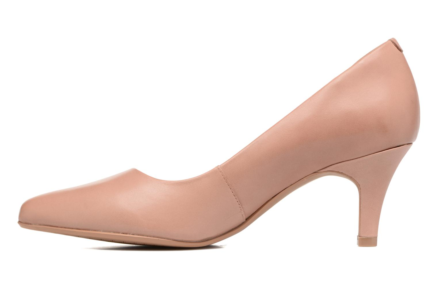 High heels Clarks Isidora Faye Pink front view