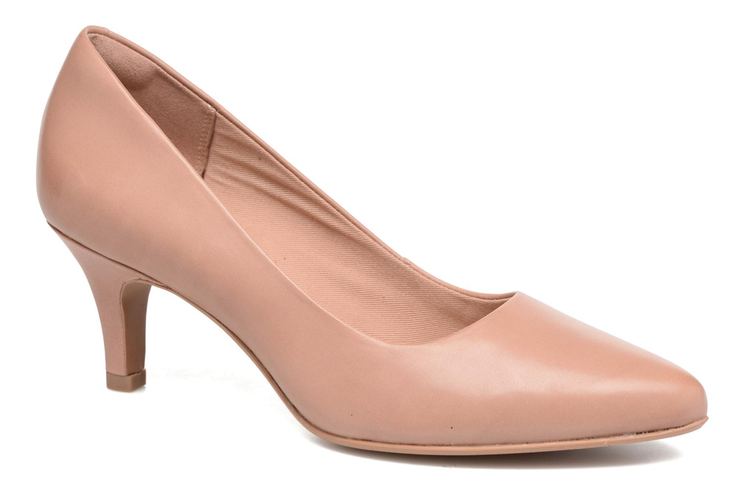 High heels Clarks Isidora Faye Pink detailed view/ Pair view