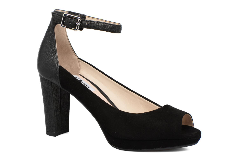 Høje hæle Clarks Kendra Ella Sort detaljeret billede af skoene