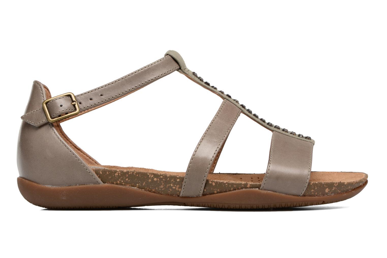 Sandales et nu-pieds Clarks Autumn Fresh Gris vue derrière