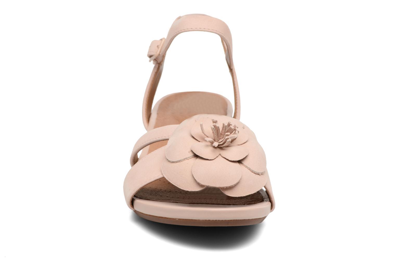 Sandalen Clarks Parram Stella rosa schuhe getragen