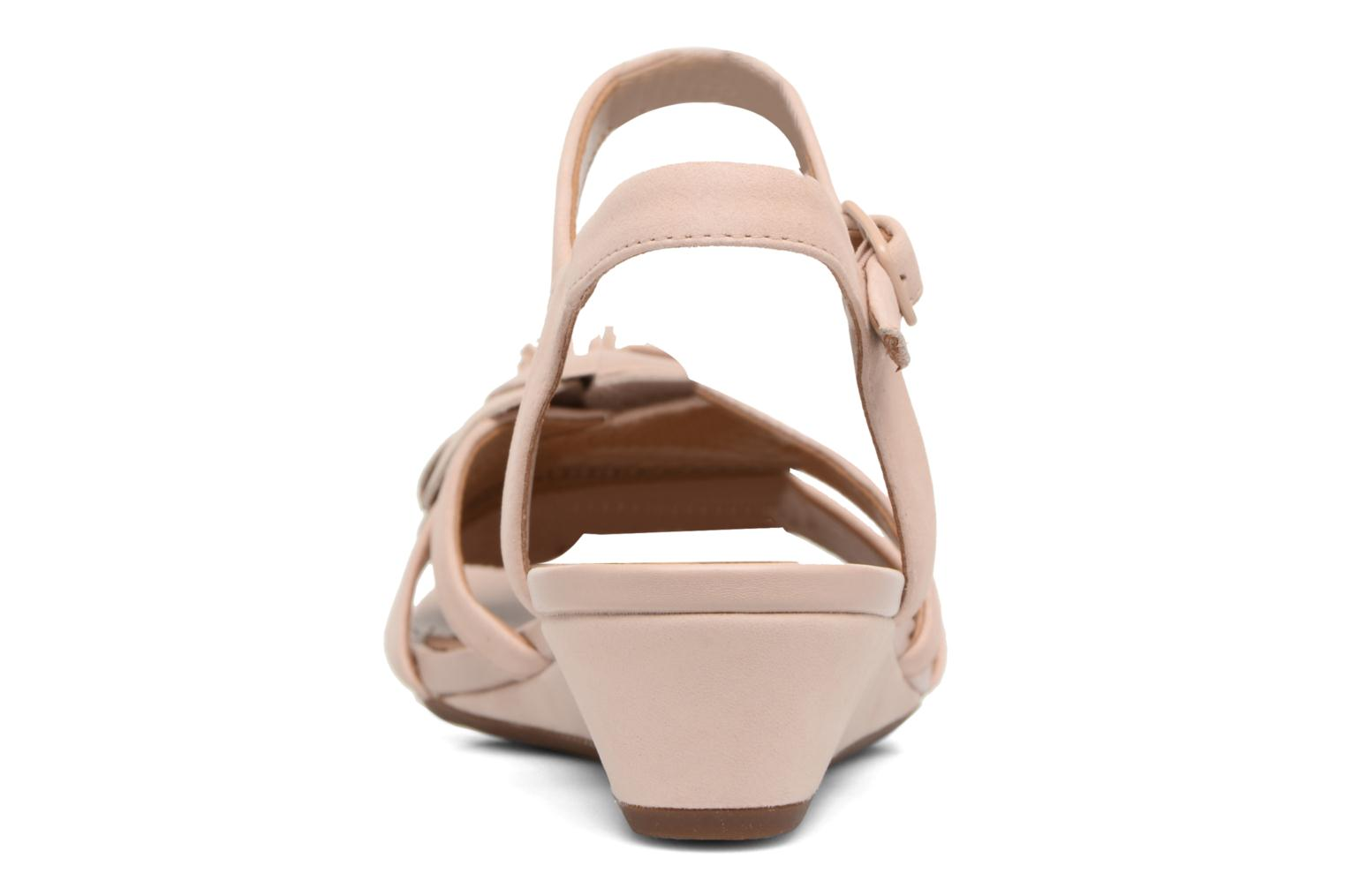 Sandals Clarks Parram Stella Pink view from the right