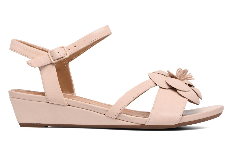 Sandales et nu-pieds Clarks Parram Stella Rose vue derrière