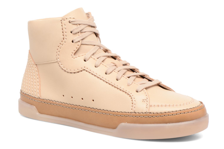Sneakers Clarks Hidi Haze Pink detaljeret billede af skoene