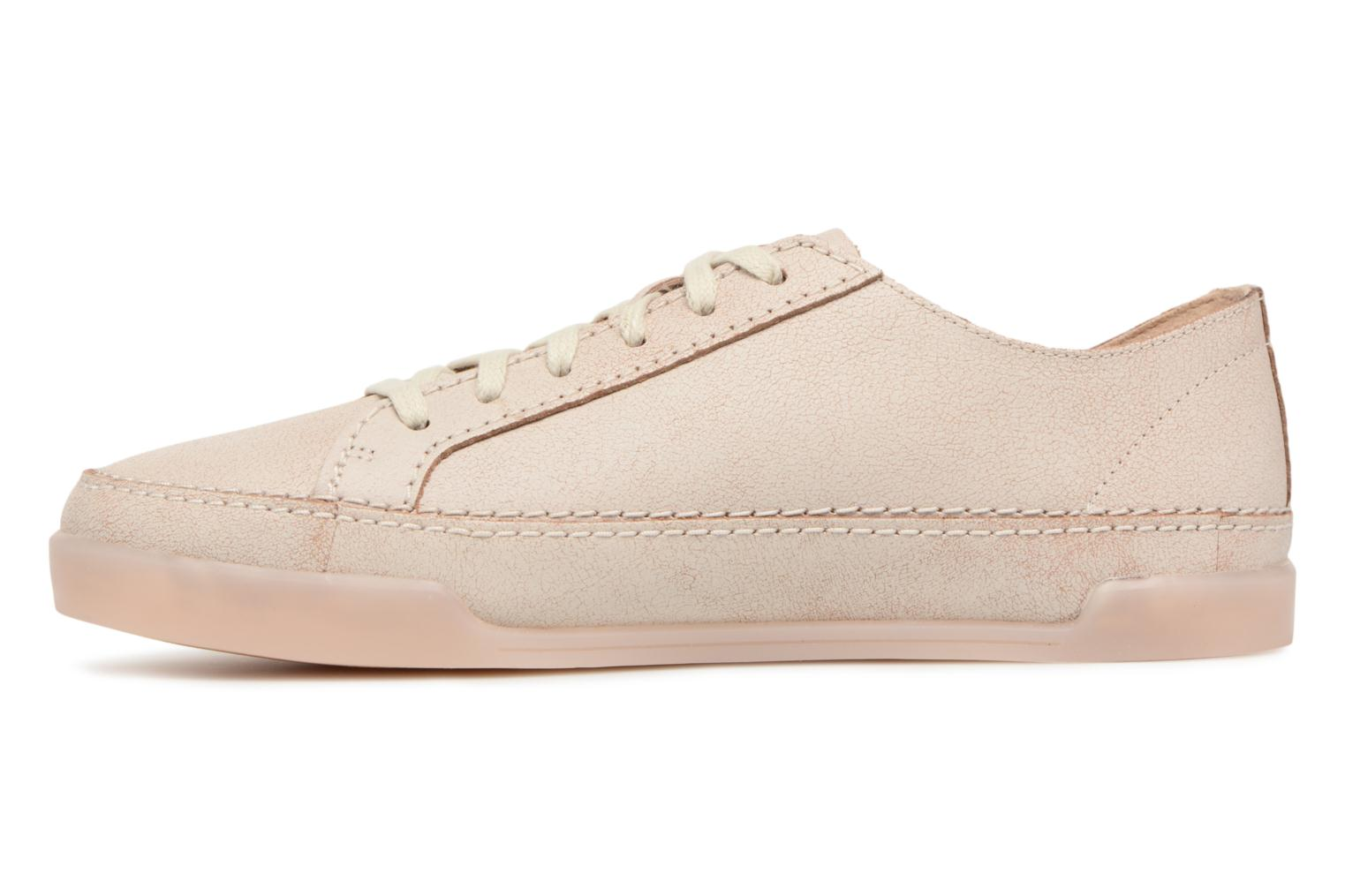 Trainers Clarks Hidi Holly Beige front view
