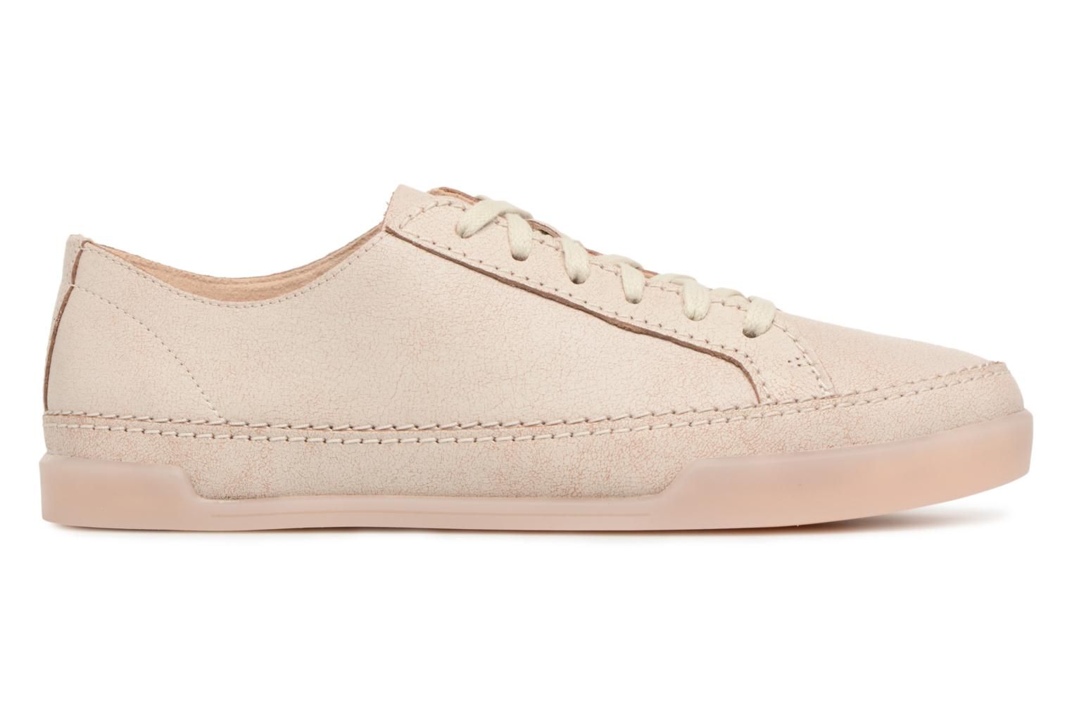 Trainers Clarks Hidi Holly Beige back view