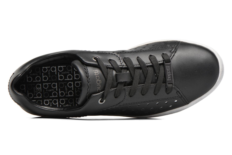 Baskets Bugatti Fergie J7605-PR6N Noir vue gauche