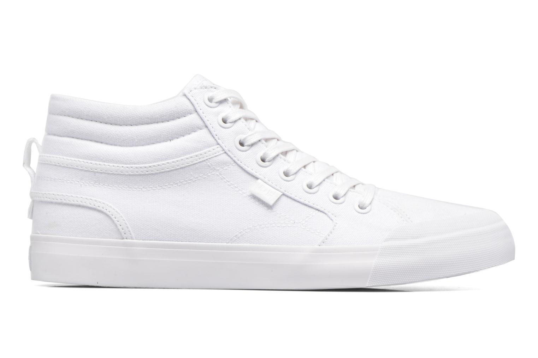 Baskets DC Shoes Evansmith Hi Tx M Blanc vue derrière