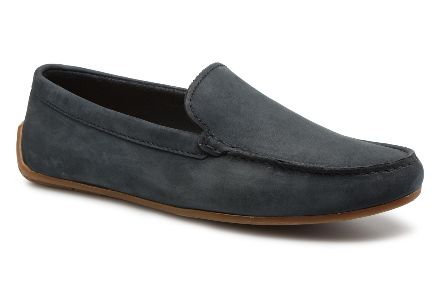 Marques Chaussure homme Clarks homme Reazor Edge Navy nubuck