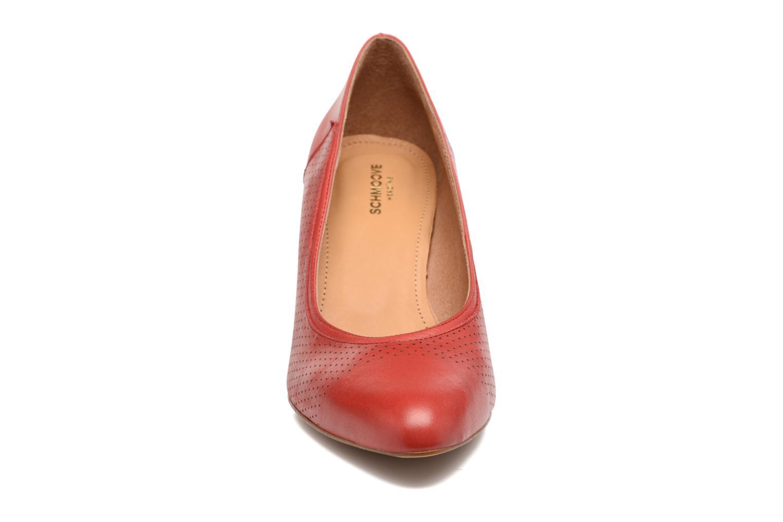 Escarpins Schmoove Woman Odissey Pump Rouge vue portées chaussures