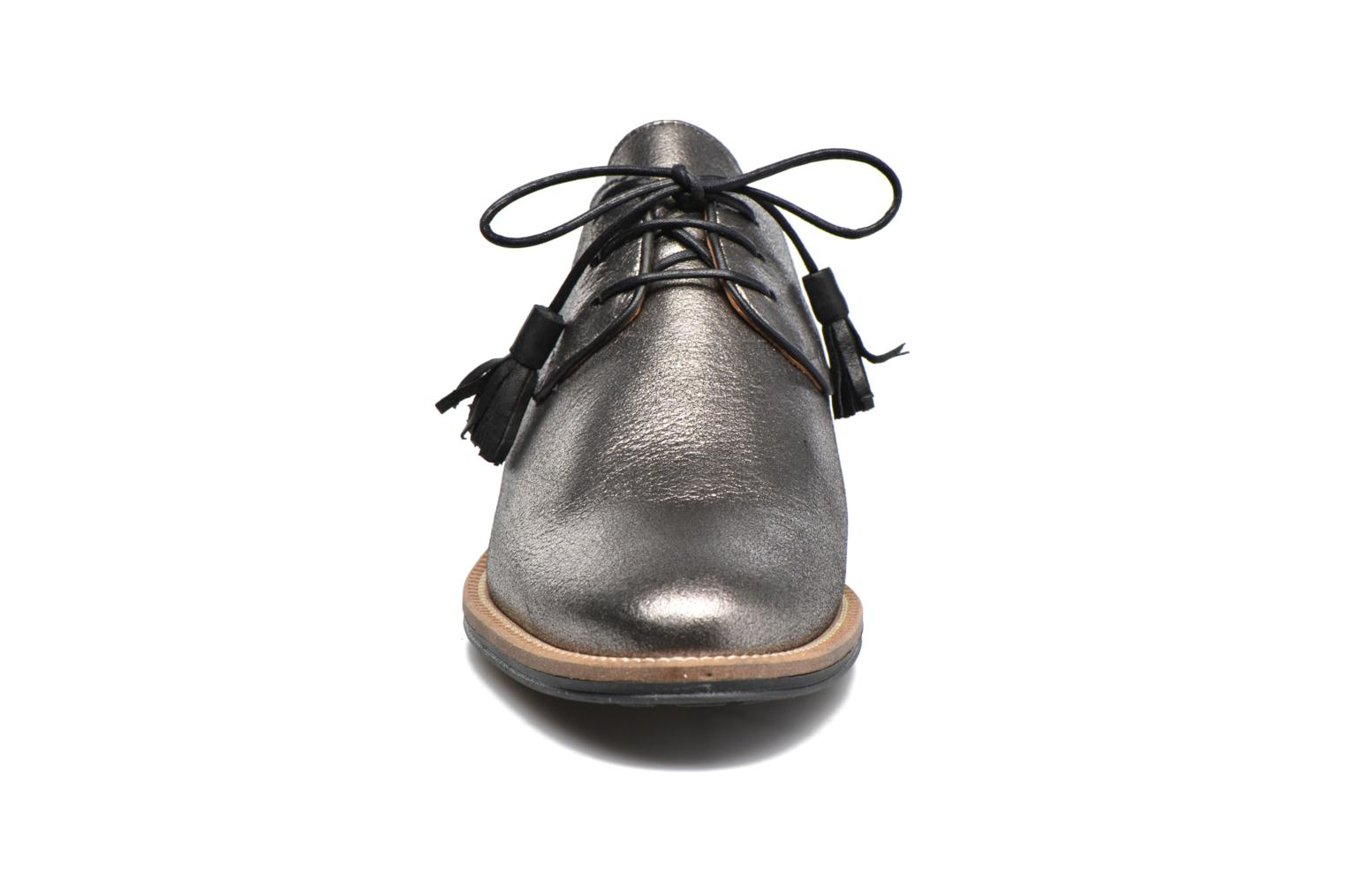 Lace-up shoes Schmoove Woman Newton Derby Black model view