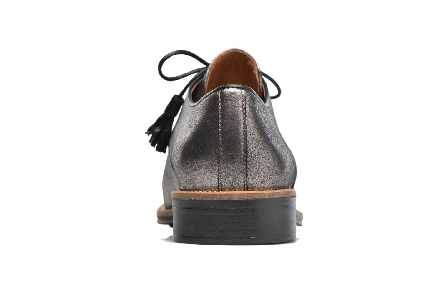 Lace-up shoes Schmoove Woman Newton Derby Black view from the right