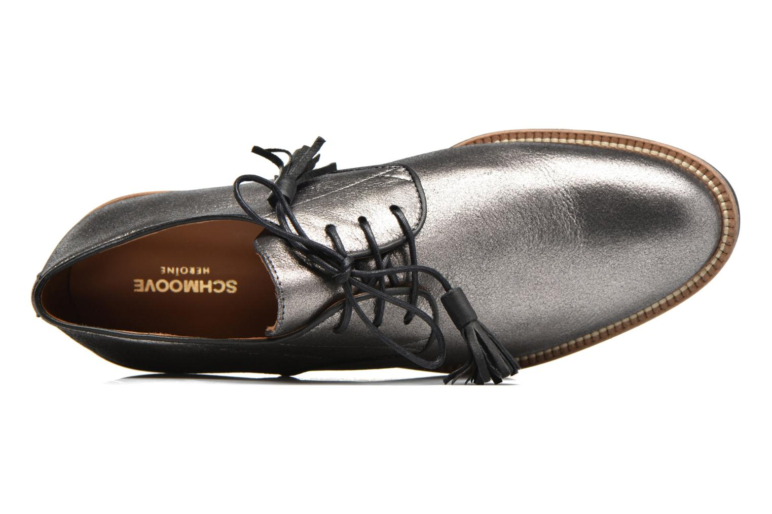 Lace-up shoes Schmoove Woman Newton Derby Black view from the left