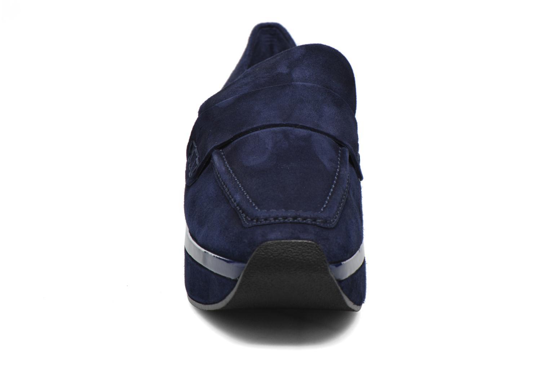 Mocassins Anaki Simone Bleu vue portées chaussures