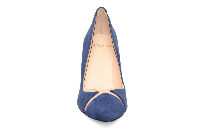 Escarpins Anaki Georgia Bleu vue portées chaussures