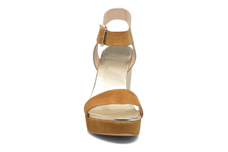 Sandales et nu-pieds Anaki Wave Or et bronze vue portées chaussures