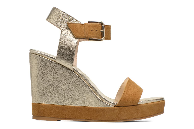 Sandales et nu-pieds Anaki Wave Or et bronze vue derrière