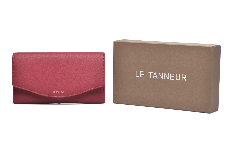 Petite Maroquinerie Le Tanneur VALENTINE Porte-monnaie long anti-RFID Rose vue détail/paire