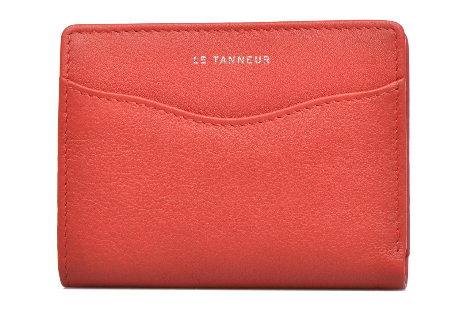Wallets & cases Le Tanneur VALENTINE Porte-cartes anti-RFID Red view from the left