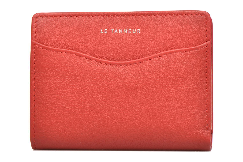 Petite Maroquinerie Le Tanneur VALENTINE Porte-cartes anti-RFID Rouge vue gauche