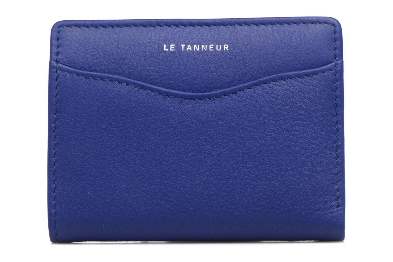 Kleine lederwaren Le Tanneur VALENTINE Porte-cartes anti-RFID Blauw model