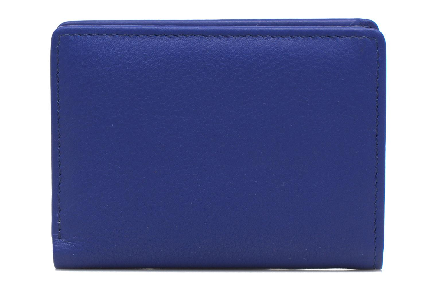 Wallets & cases Le Tanneur VALENTINE Porte-cartes anti-RFID Blue view from the right