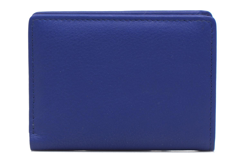 Kleine lederwaren Le Tanneur VALENTINE Porte-cartes anti-RFID Blauw rechts