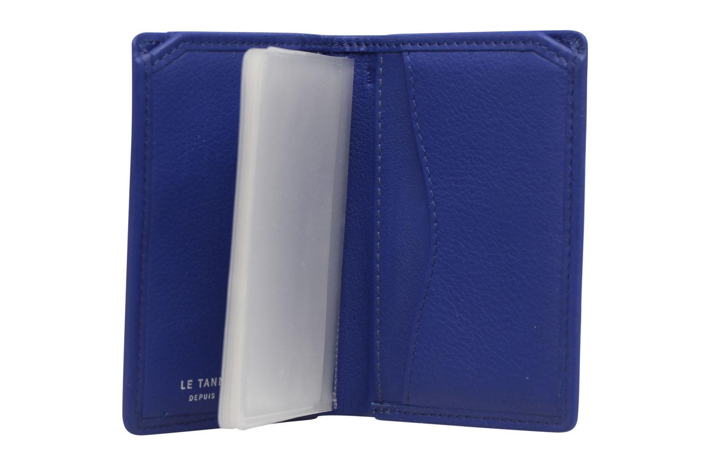 Wallets & cases Le Tanneur VALENTINE Porte-cartes anti-RFID Blue back view
