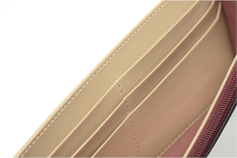 Petite Maroquinerie Le Tanneur LILY Porte-monnaie long Multicolore vue derrière