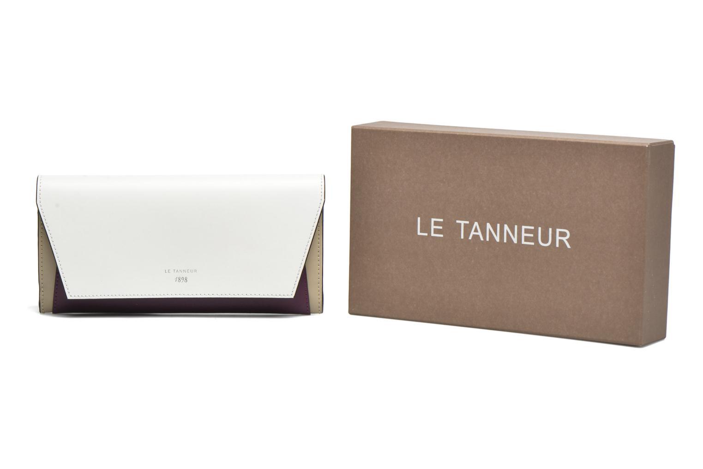 Petite Maroquinerie Le Tanneur LILY Porte-monnaie long Multicolore vue détail/paire
