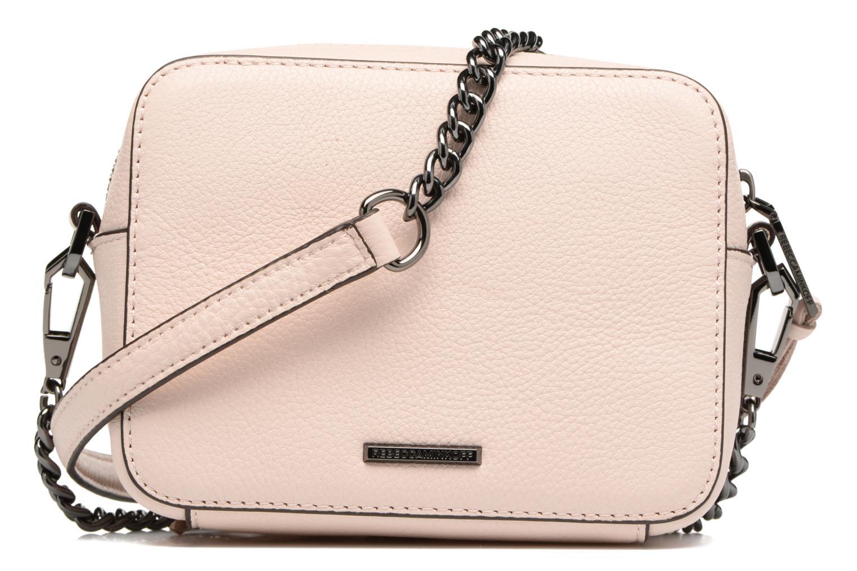 Handbags Rebecca Minkoff 4 ZIP MOTO CAMERA BAG Pink front view