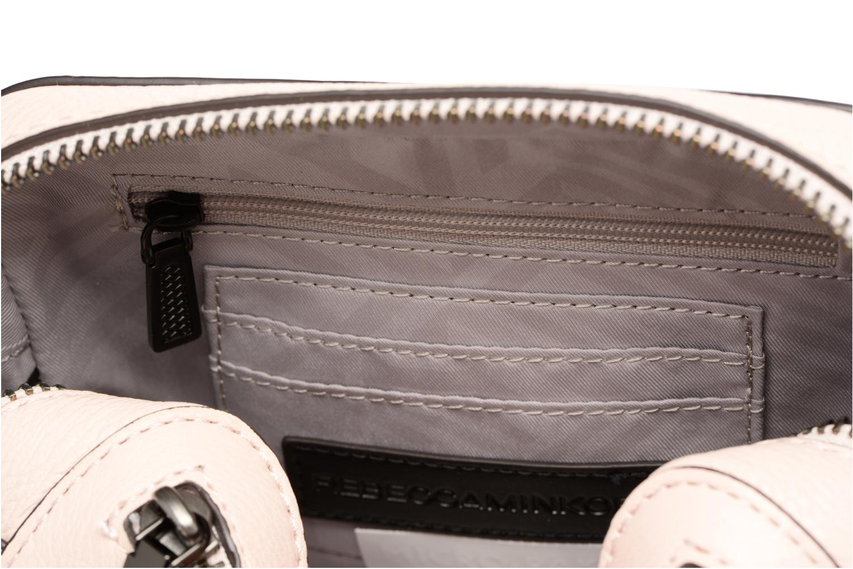 Handbags Rebecca Minkoff 4 ZIP MOTO CAMERA BAG Pink back view