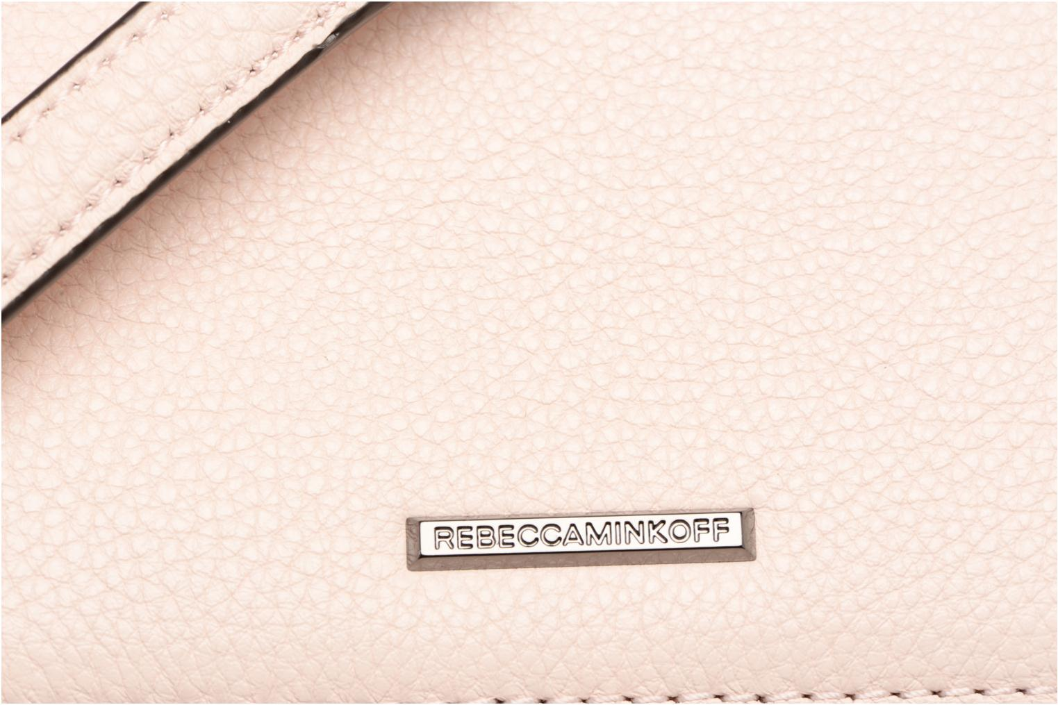 Handtassen Rebecca Minkoff 4 ZIP MOTO CAMERA BAG Roze links